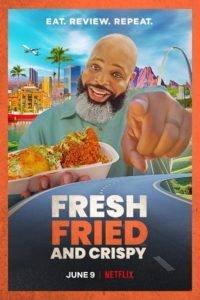 fresh fried crispy poster
